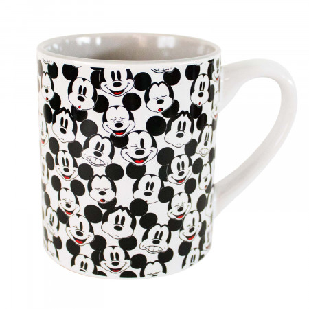 Mickey Mouse Ceramic Faces Coffee Mug