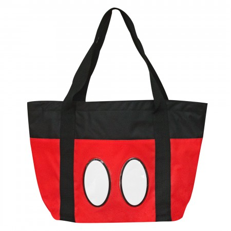 Mickey Mouse Classic Canvas 16 X 13 Beach Bag