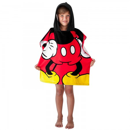 Mickey Mouse Hooded Youth Costume Towel