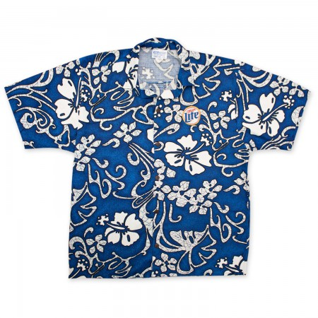 Miller Lite Hawaiian Beer Logo Shirt