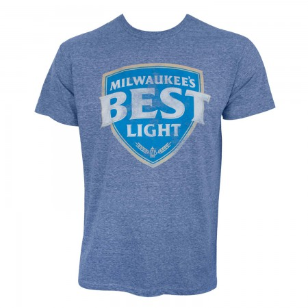 Milwaukee's Best Light Men's Blue T-Shirt