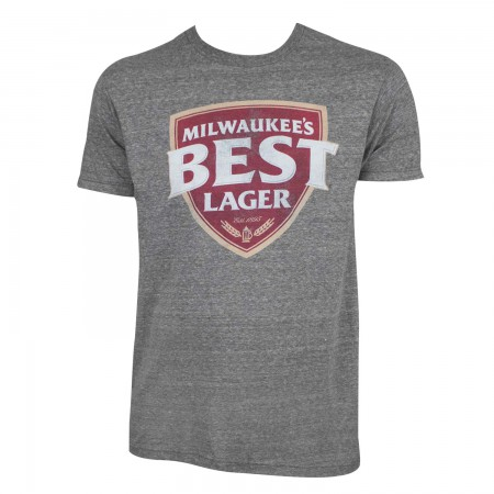 Milwaukee's Best Men's Grey Lager T-Shirt