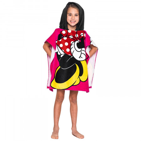 Minnie Mouse Hooded Youth Costume Towel