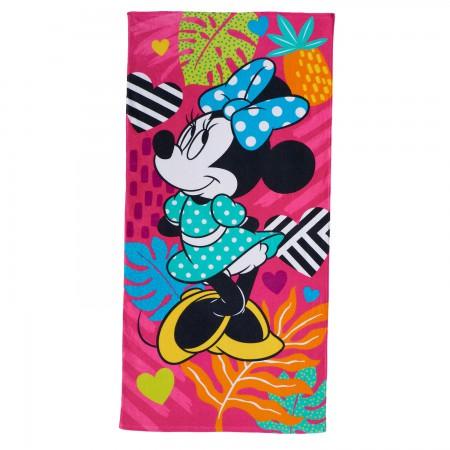 Disney Minnie Mouse Pink Beach Towel