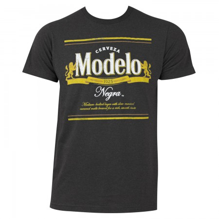 Modelo Negra Men's Gray Tee Shirt