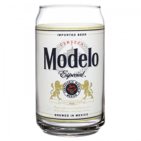 Modelo Especial Bottle Label Pint Glass