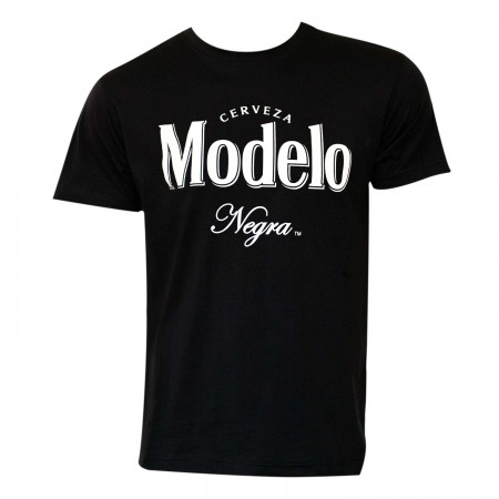 Negra Modelo Men's Black Beer Logo T-Shirt