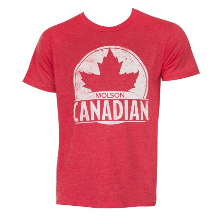 Molson Canadian Men's Red T-Shirt