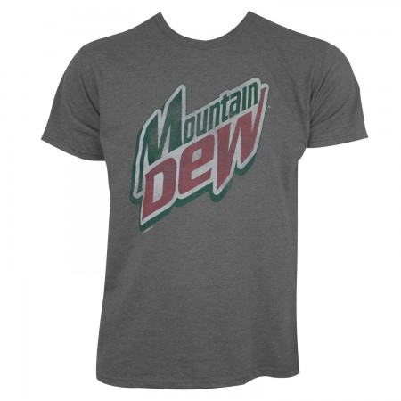 Mountain Dew Heather Grey Tee Shirt