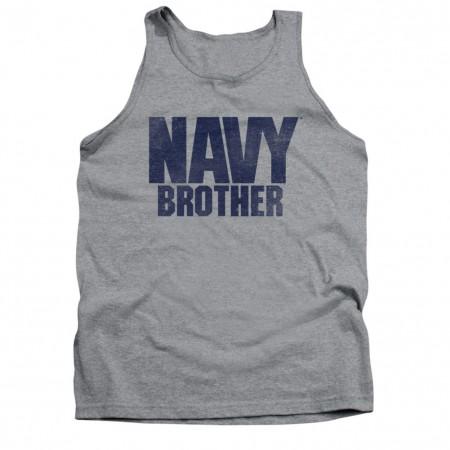 US Navy Brother Gray Tank Top
