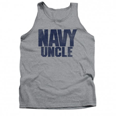US Navy Uncle Gray Tank Top