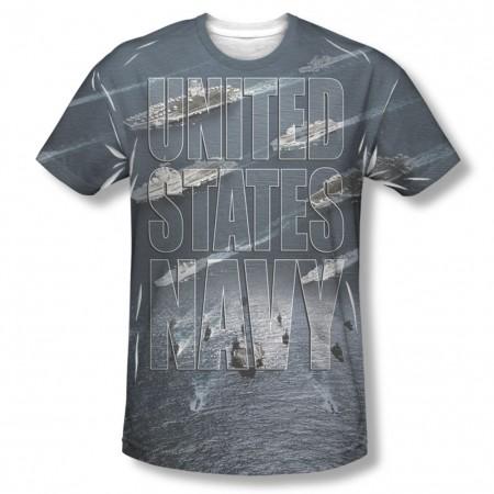 US Navy Fleet Sublimation T-Shirt