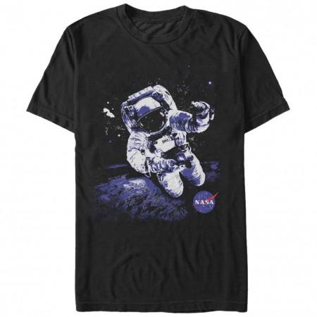 NASA Astronaut Men's Black T-Shirt