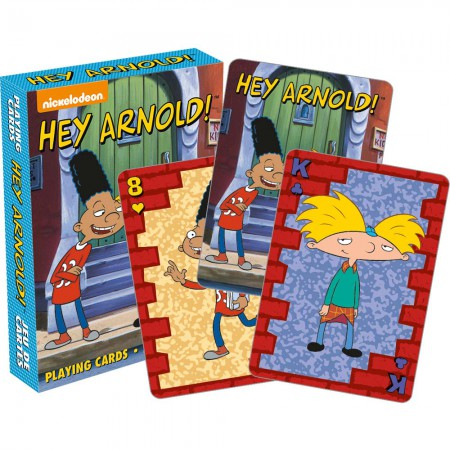 Nickelodeon Hey Arnold Playing Cards