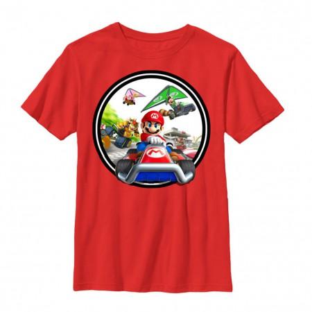 Mario Kart Youth Red Tshirt