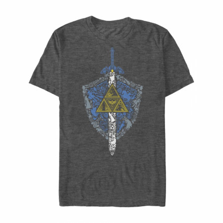 Legend of Zelda Iconic Weapon T-Shirt