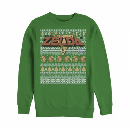 Nintendo Legend of Zelda Ugly Christmas Sweatshirt