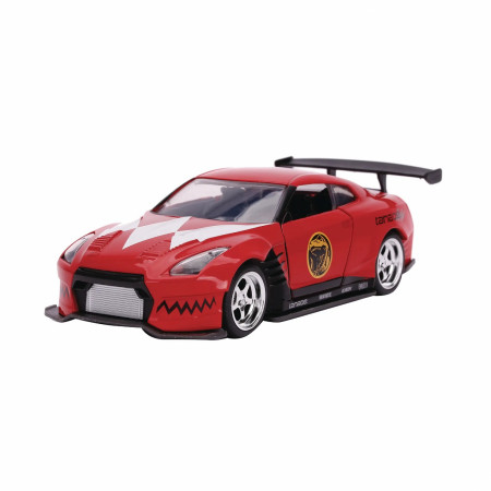 "Power Rangers Nissan GT-R R35 Diecast Metal 5"" Movie Car by Jada Toys"