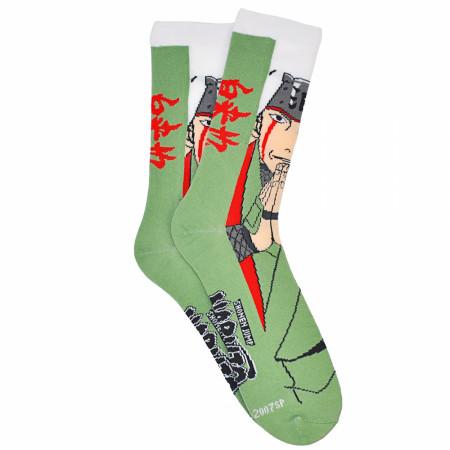 Naruto Shippuden Jiraiya Crew Socks