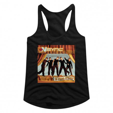 NSYNC No Strings Attached Women's Racerback Tank Top