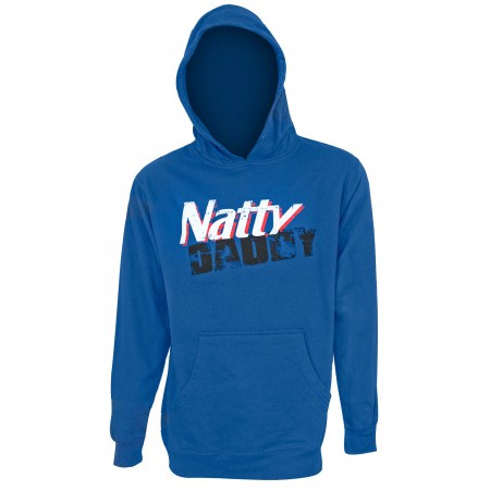 Natural Light Men's Natty Daddy Blue Hoodie