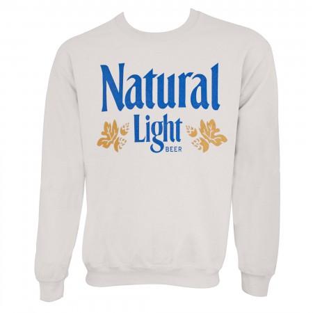 Natural Light Off-White Vintage Logo Crewneck Sweatshirt