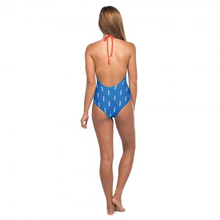 Natural Light One Piece Ladies Blue Swimsuit