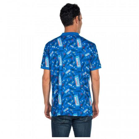 Natural Light Blue Polo Shirt Shirt