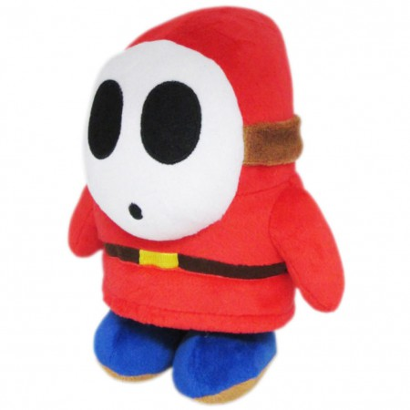 Nintendo Mario Bros. Shy Guy Red Plush Doll