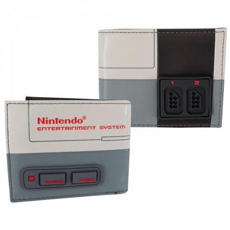 Nintendo Classic NES Raised Bifold Wallet