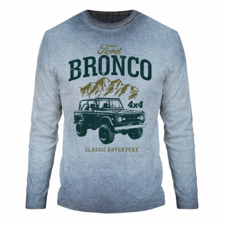 Ford Bronco Long Sleeve Shirt