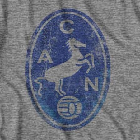 Vintage Napoli Grey Men's Horse Crest T-Shirt