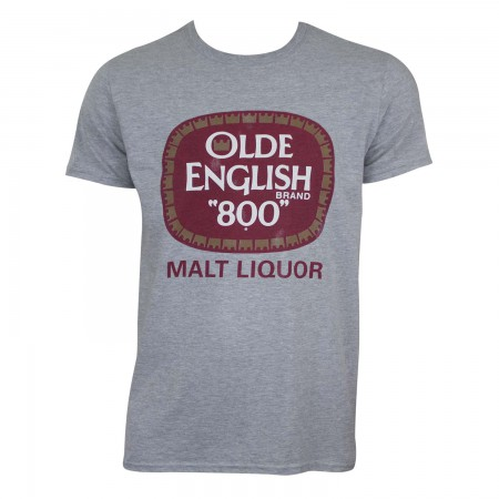 Olde English 800 Men's Grey Malt Liquor T-Shirt