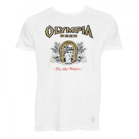 Olympia Retro Brand White Tee Shirt