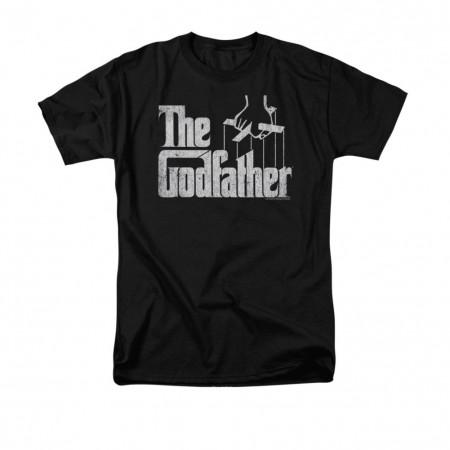 The Godfather Logo Black T-Shirt