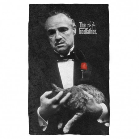 The Godfather Movie Poster Beach Towel
