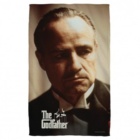 The Godfather Don Vito Beach Towel