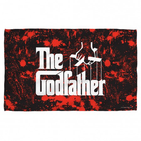 The Godfather Blood Splatter Beach Towel