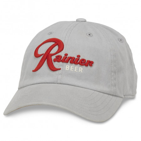 Rainer Beer Adjustable Grey Strapback Hat