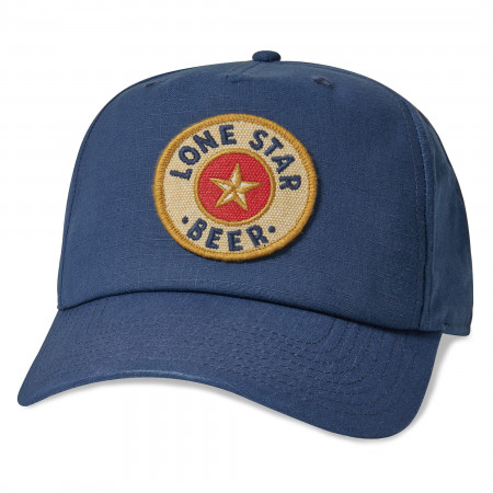 Lone Star Beer Surplus Patch Adjustable Hat