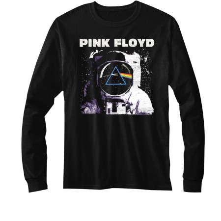 Pink Floyd Dark Side of the Moon Astronaut Long Sleeve Shirt