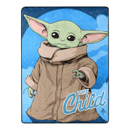 Star Wars The Mandalorian The Child Grogu 60X80 Throw Blanket