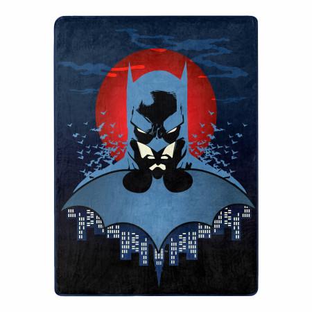 DC Comics Batman Anti Hero 46 X 60 Silk Touch Throw