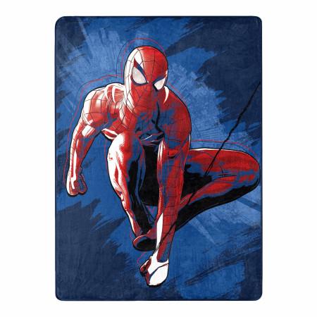 Marvel Comics Spider-Man Spidey Sense 46 X 60 Silk Touch Throw