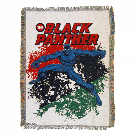 Black Panther Defend Tapestry Throw