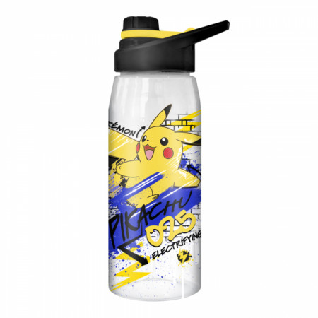 Pikachu 28 Ounce Water Bottle with Screw Lid