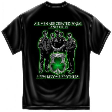 Irish Police Brotherhood Patriotic TShirt
