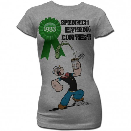 Popeye Spinach Contest T-Shirt