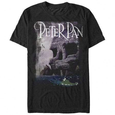 Disney Peter Pan Black T-Shirt