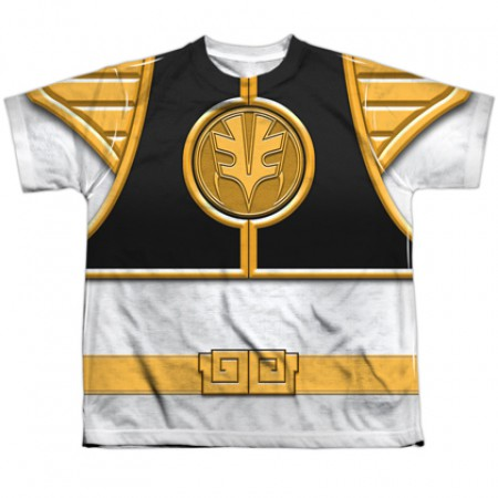 Power Rangers White Ranger Youth Costume Tee